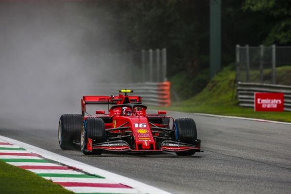 16 LECLERC Charles (mco), Scuderia Ferrari SF90, action during 2019 Formula 1 FIA world championship, Italy Grand Prix, at Monza from september 5 to 9. PHOTO | AFP