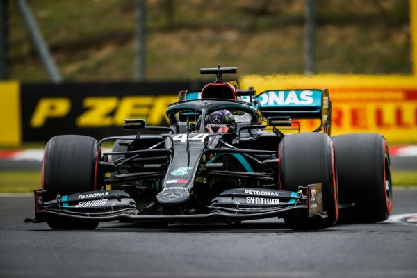 44 HAMILTON Lewis (gbr), Mercedes AMG F1 GP W11 Hybrid EQ Power+, action during the Formula 1 Aramco Magyar Nagydij 2020, Hungarian Grand Prix from July 17 to 19, 2020 on the Hungaroring, in Budapest, Hungary. PHOTO | AFP