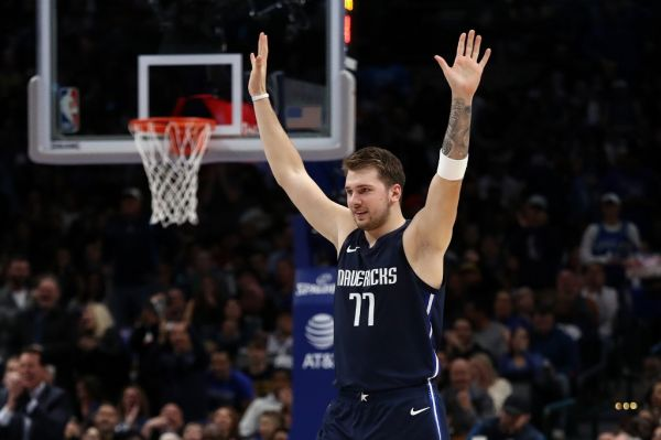 Luka Doncic #77 of the Dallas Mavericks at American Airlines Center on November 22, 2019 in Dallas, Texas. PHOTO | AFP