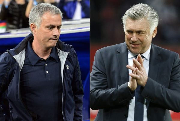 A combination picture shows Real Madrid's Portuguese coach Jose Mourinho (L) and Paris Saint Germain's Italian coach Carlo Ancelotti. Paris Saint-Germain coach Carlo Ancelotti confirmed on May 19 that he wants to leave the French champions to take over at Real Madrid. Real Madrid president Florentino Perez stated on May 20, 2013 that he had not reached an agreement with any coach to succeed Mourinho who will leave Real Madrid at the end of the season. PHOTO | AFP
