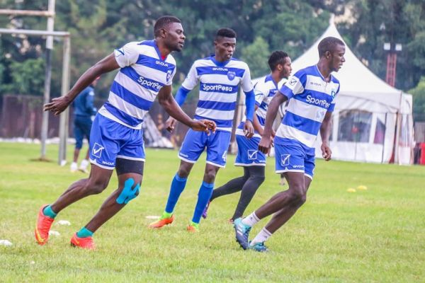 AFC Leopards SC players during a training session. PHOTO | SPN