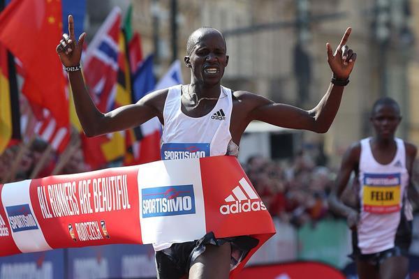 Another Prague Half Marathon victory for Benard Kimeli. PHOTO/IAAF