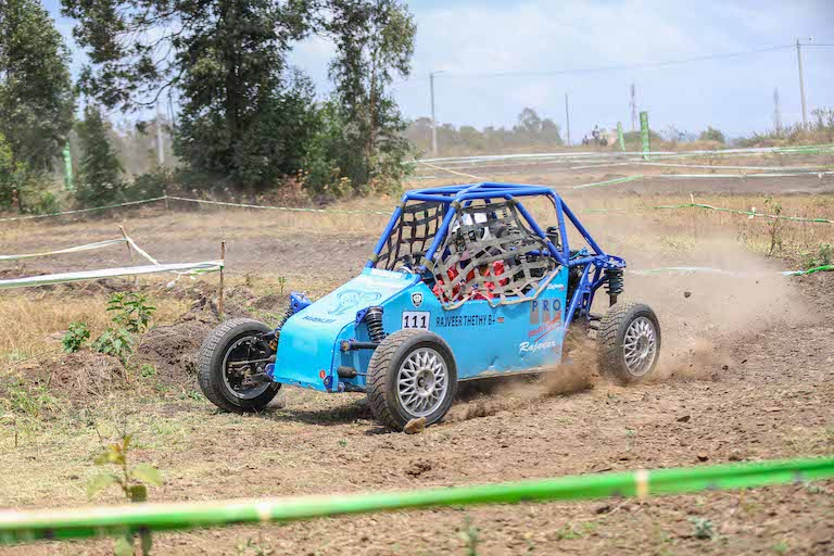 Autocross action. PHOTO/Courtesy