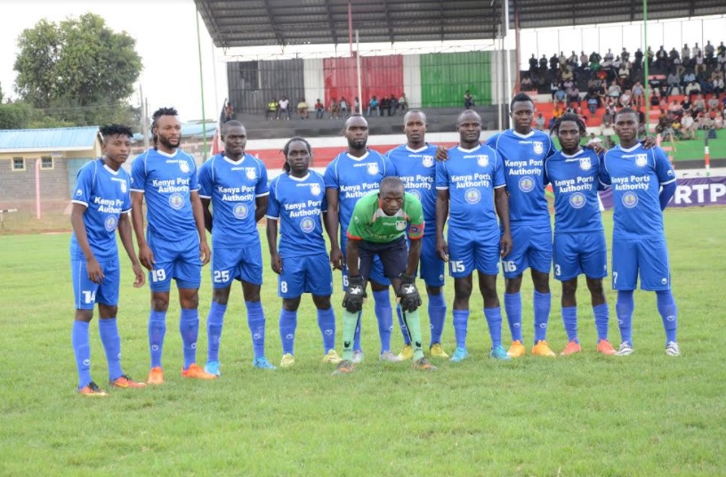 Bandari FC line-up for a previous match. PHOTO/File