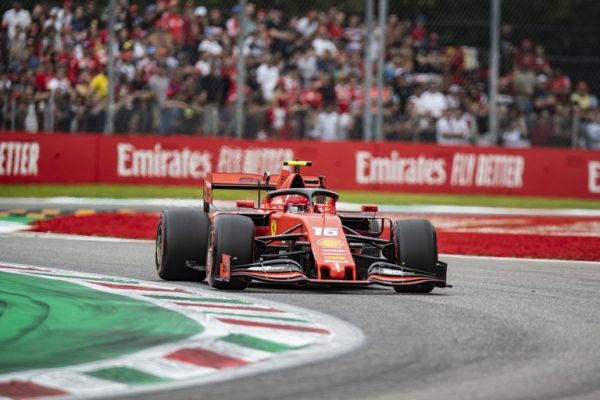 Charles Leclerc of Monaco driving the (16) Scuderia Ferrari SF90 during the F1 Grand Prix of Italy at Autodromo di Monza on September 08, 2019 in Monza, Italy. PHOTO | AFP