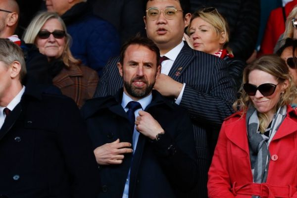 England manager Gareth Southgate is seen in the crowd during the English Premier League football match between Southampton and Bournemouth at St Mary's Stadium in Southampton, southern England on April 27, 2019. PHOTO/AFP