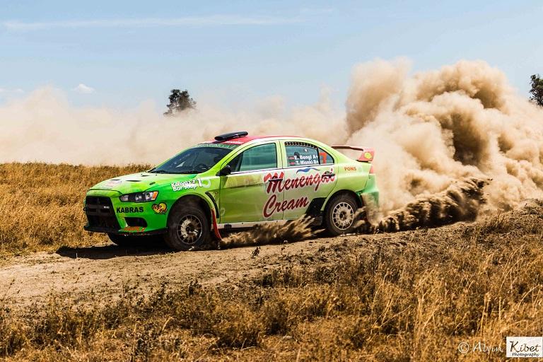 Eric Bengi during the test drive in Stoni Athi.PHOTO/SPN