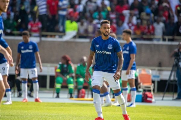 Everton FC star winger, Theo Walcott in action during the landmark friendly between his team and Kariobangi Sharks FC at the MISC Kasarani on Sunday, July 7, 2019. PHOTO/SPN