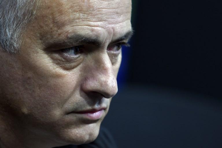 Ex-Manchester United FC manager, Jose Mourinho. PHOTO/File