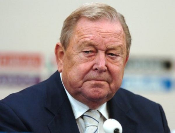 Ex-UEFA President Lennart JOHANSSON died at the age of 89 years archive photo. PHOTO/ AFP