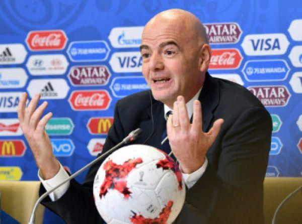 FIFA President, Gianni Infantino. PHOTO/File