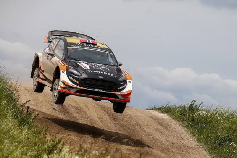 Former Citroen and M-Sport factory driver, Mads Ostberg, who won the Portugal Rally Championships in 2012 with a Ford Fiesta in action. PHOTO/Courtesy