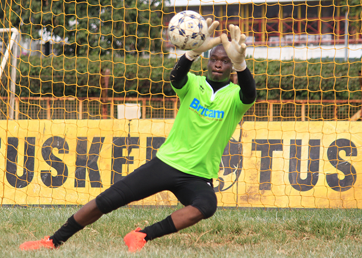 Former Sofapaka FC goalkeeper Wycliffe Kasaya in action in a past match.PHOTO/SPN