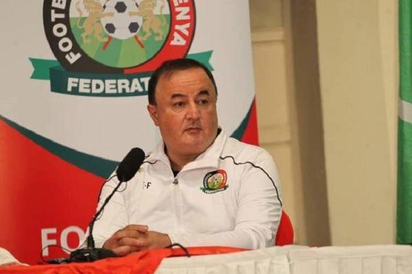 Harambee Stars coach Engin Firat. PHOTO | Courtesy