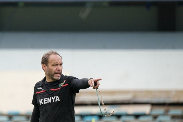 Harambee Stars coach Sebastian Migne. PHOTO | AFP