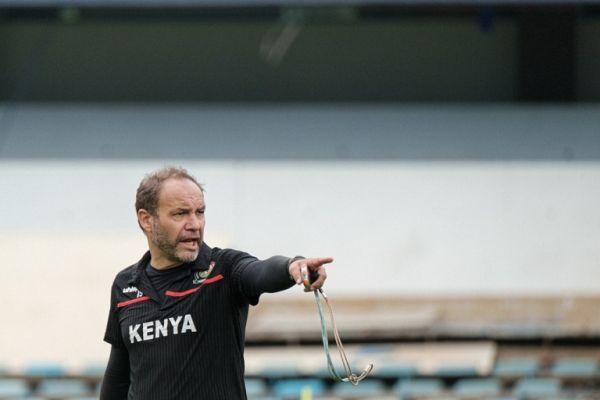 Harambee Stars coach Sebastian Migne. PHOTO | AFP
