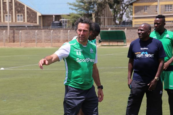 Hassan Oktay, Gor Mahia FC coach. PHOTO/SPN