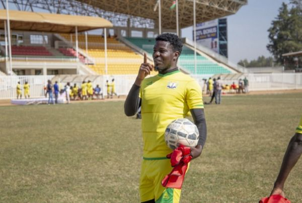 Kakamega Homeboyz FC forward Allan Wanga. PHOTO/SPN