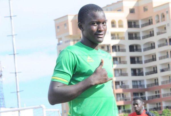 Kariobangi Sharks FC central defender, Tom Teka. PHOTO/Courtesy/Kariobangi Sharks FC