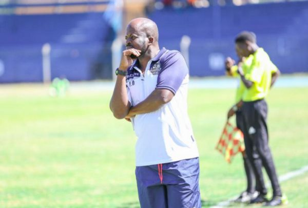 Kenya Commercial Bank FC head coach Frank Ouna. PHOTO/KCBFCTwitter