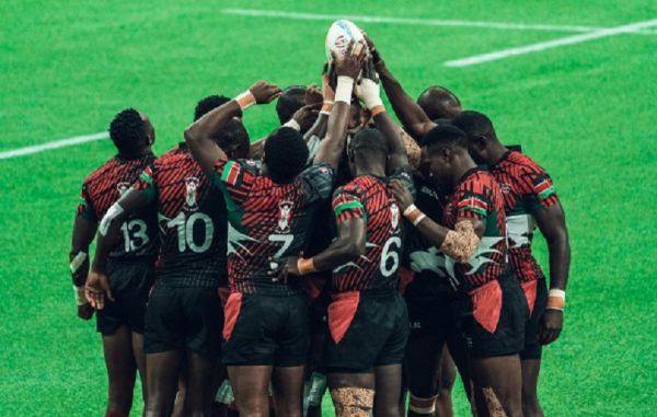 Kenya men's sevens rugby team. PHOTO   Courtesy