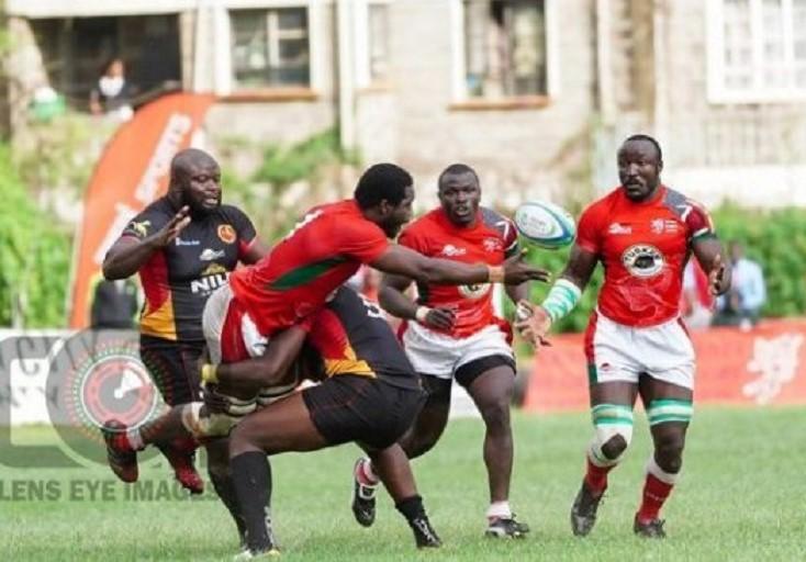Kenya Simbas in a past international fixture. PHOTO/ KRU