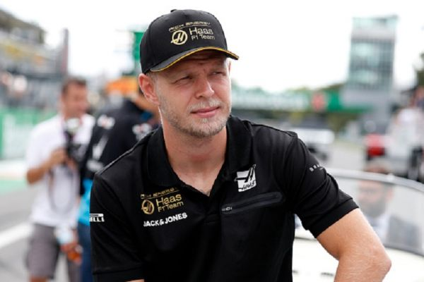 Kevin Magnussen of Rich Energy Haas F1 Team in the paddock during the Formula One Grand Prix of Italy.PHOTO/ GETTY IMAGES