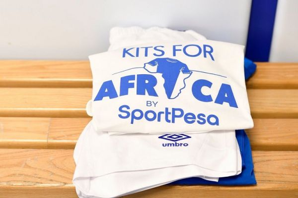 Kits For Africa is a programme launched by technology and entertainment business SportPesa and their European football partners where players and fans donate kits that are ferried to grassroots teams in the continent as a foundation of developing the game. PHOTO/ SPN