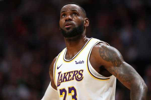 Lebron James #23 of the Los Angeles Lakers plays the Denver Nuggets at the Pepsi Center on December 03, 2019 in Denver, Colorado. PHOTO   AFP