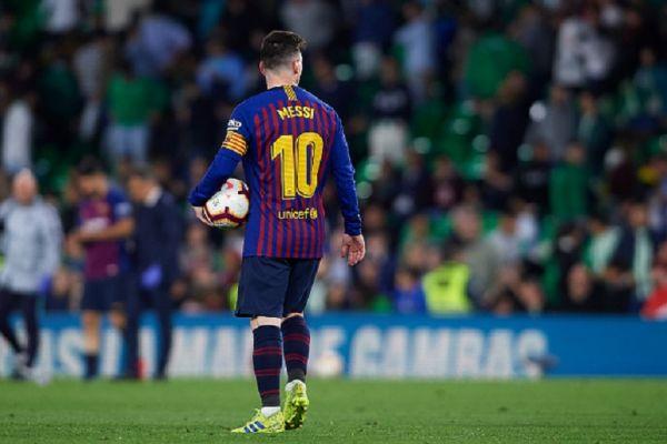 Lionel Messi. PHOTO | AFP