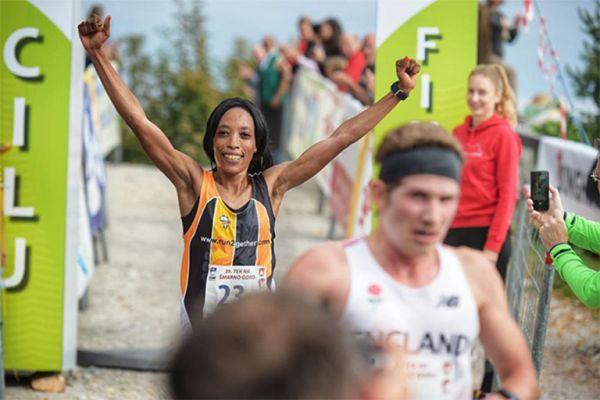 Lucy Murigi wins in Smarna Gora on Saturday, October 6, 2018. PHOTO/Courtesy/IAAF