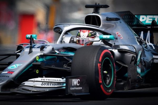 Mercedes' British driver Lewis Hamilton drives during the first practice session at the Circuit Paul Ricard in Le Castellet, southern France, on June 21, 2019, ahead of the Formula One Grand Prix de France. PHOTO | AFP