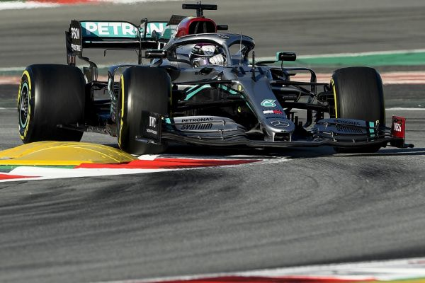 Mercedes' British driver Lewis Hamilton takes part in the tests for the new Formula One Grand Prix season at the Circuit de Catalunya in Montmelo in the outskirts of Barcelona on February 28, 2020. PHOTO | AFP