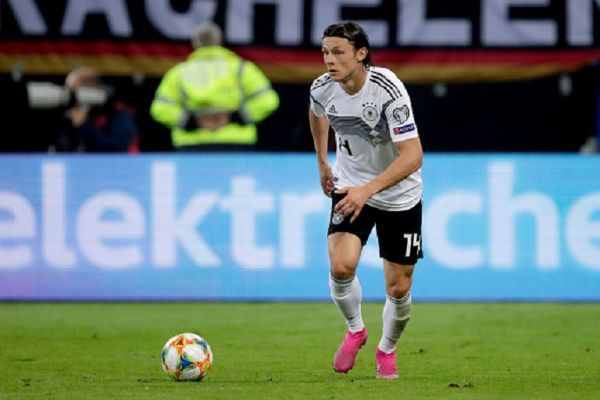 Nico Schulz of Germany during the EURO Qualifier match between Germany v Holland at the Volkspark Stadium on September 6, 2019 in Hamburg Germany. PHOTO/GETTY IMAGES