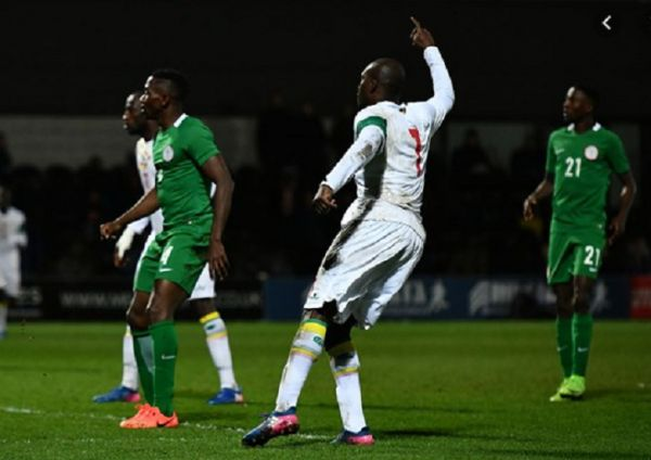 Nigeria in action against Togo in 2020 CHAN Qualifying. PHOTO | FootballTips