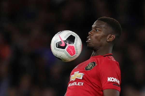 Paul Pogba of Manchester United during the Premier League match between Wolverhampton Wanderers and Manchester United at Molineux on August 19, 2019 in Wolverhampton, United Kingdom.PHOTO/ GETTY IMAGES