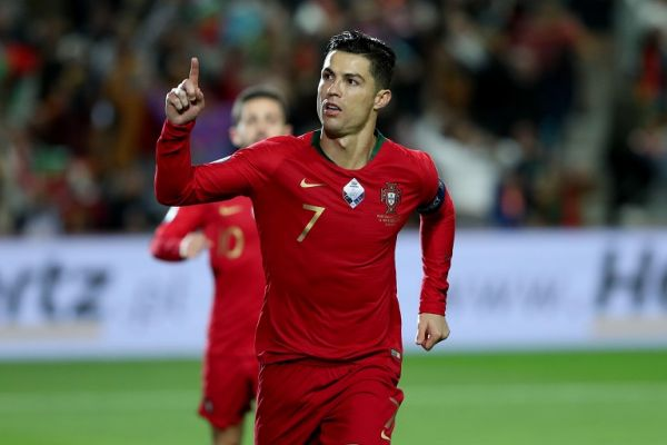 Portugal's forward Cristiano Ronaldo. PHOTO   Alamy