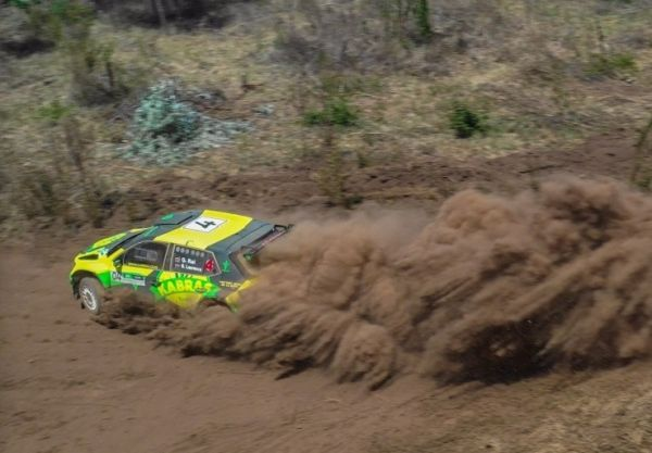 Premier Class driver Onkar Singh Rai in action during a past Kenya National Rally Championship event. PHOTO/ SPN