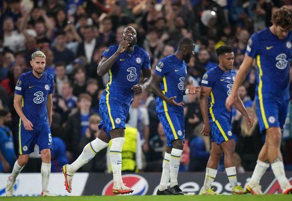 Romelu Lukaku of Chelsea celebrates scoring the winning goal during the UEFA Champions League group match between Chelsea and Zenit St. Petersburg at Stamford Bridge, London, England on 14 September 2021. PHOTO | Alamy