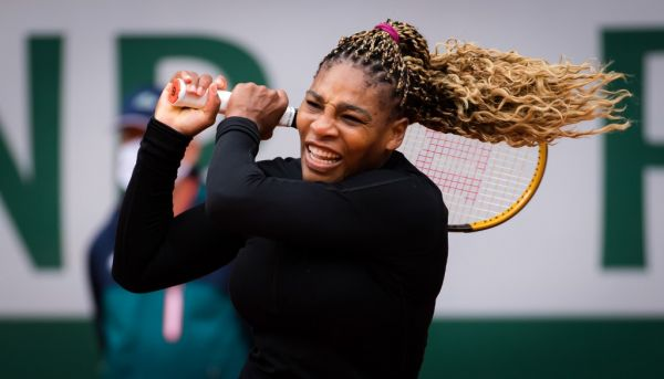 Serena Williams of the United States in action against Kristie Ahn of the United States during the first round at the Roland Garros 2020, Grand Slam tennis tournament, on September 28, 2020 at Roland Garros stadium in Paris, France. PHOTO | AFP