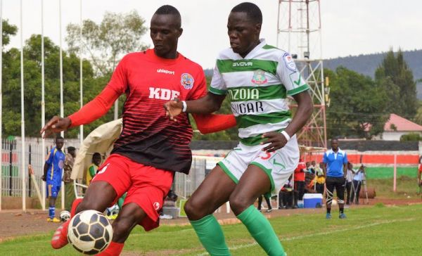 SportPesa Premier League action between Ulinzi Stars FC (left) and Nzoia Sugar FC at the Afraha Stadium, Nakuru on Monday, May 6, 2019. PHOTO/Courtesy/Ulinzi Stars FC