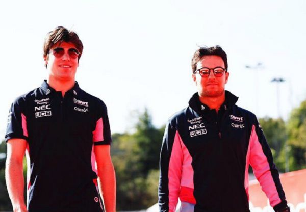 SportPesa Racing duo Lance Stroll (left) and Sergio Perez (right). PHOTO/SportPesaRacing
