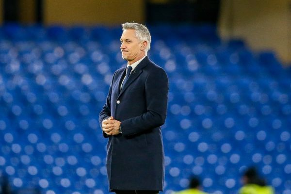 Sports Commentator Gary Lineker before the English Cup, FA Cup 5th round football match between Chelsea and Manchester United on February 18, 2019 at Stamford Bridge in London, England. PHOTO | AFP