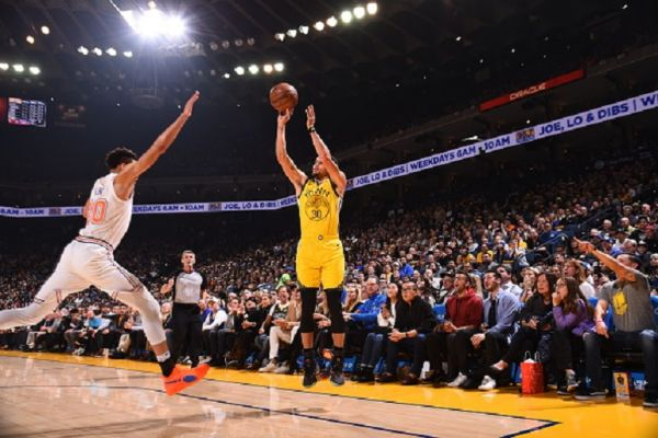 Steph Curry. PHOTO/AFP