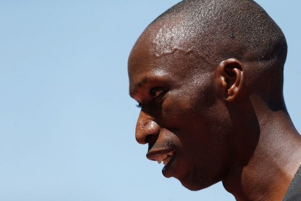 Timothy Cheruiyot of Kenya looks on after winning the men's 1 Mile during the Prefontaine Classic at Cobb Track & Angell Field on June 30, 2019 in Stanford, California. PHOTO/AFP