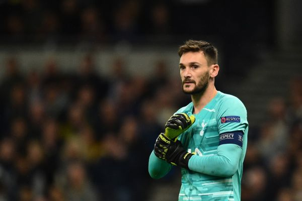 Tottenham Hotspur's French goalkeeper Hugo Lloris looks on during the UEFA Champions League Group B football match between Tottenham Hotspur and Bayern Munich at the Tottenham Hotspur Stadium in north London, on October 1, 2019. PHOTO | AFP