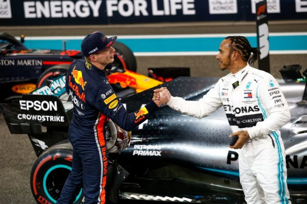 VERSTAPPEN Max (ned), Aston Martin Red Bull Racing Honda RB15, portrait HAMILTON Lewis (gbr), Mercedes AMG F1 GP W10 Hybrid EQ Power+, portrait during the 2019 Formula One World Championship, Abu Dhabi Grand Prix from November 28 to december 1 in Yas Marina. PHOTO | AFP