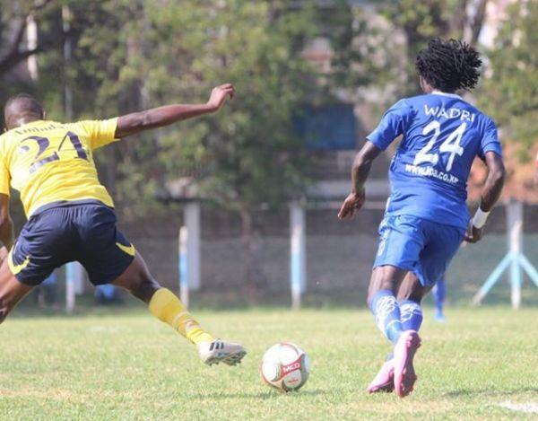 William Wadri in action for Bandari FC. PHOTO | FUTAA