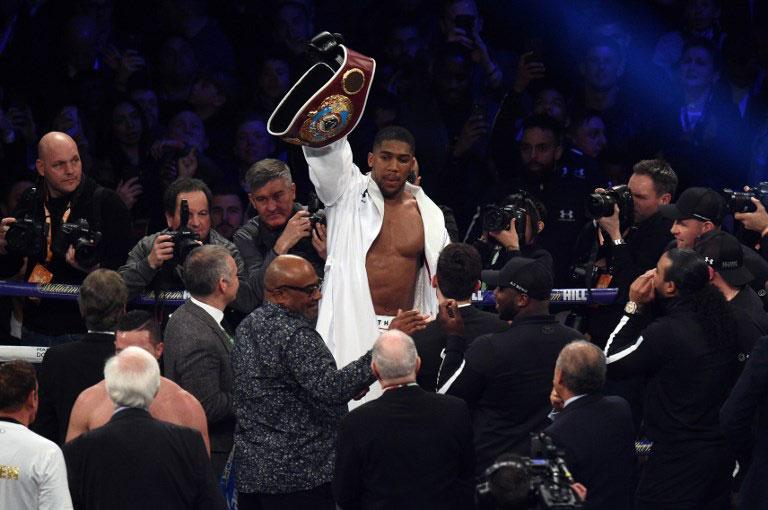 World Boxing Heavyweight champion, Anthony Joshua. PHOTO/File