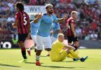 Sergio Aguero Brace Grants Champions Man City Away Win At Bournemouth